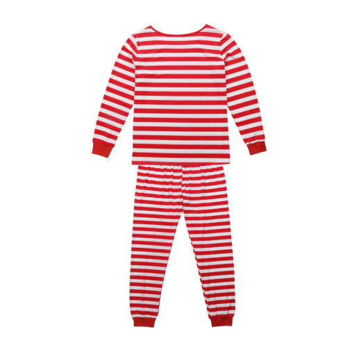 c3c9a878f2 Family Matching Christmas Pajamas PJs Sets Xmas Striped Sleepwear Nightwear  UK-in Pajama Sets from Underwear   Sleepwears on Aliexpress.com