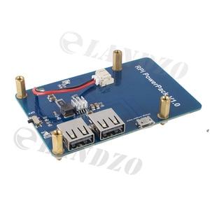 Image 5 - Lityum pil paketi genişletme kartı güç kaynağı ahududu Pi 3,2 Model B için anahtarı, 1 Model B + muz Pi