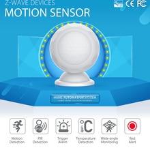 YobangSecurity Z-wave плюс инфракрасный PIR движения Сенсор детектор+ Температура Сенсор домашней автоматизации Zwave охранной сигнализации Системы
