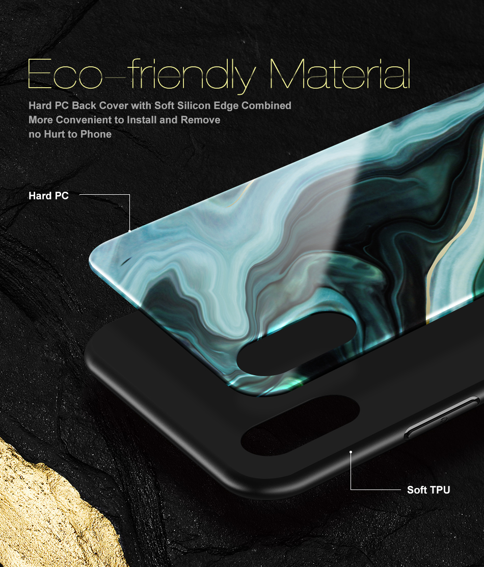 Luxury Agate Pattern Cases