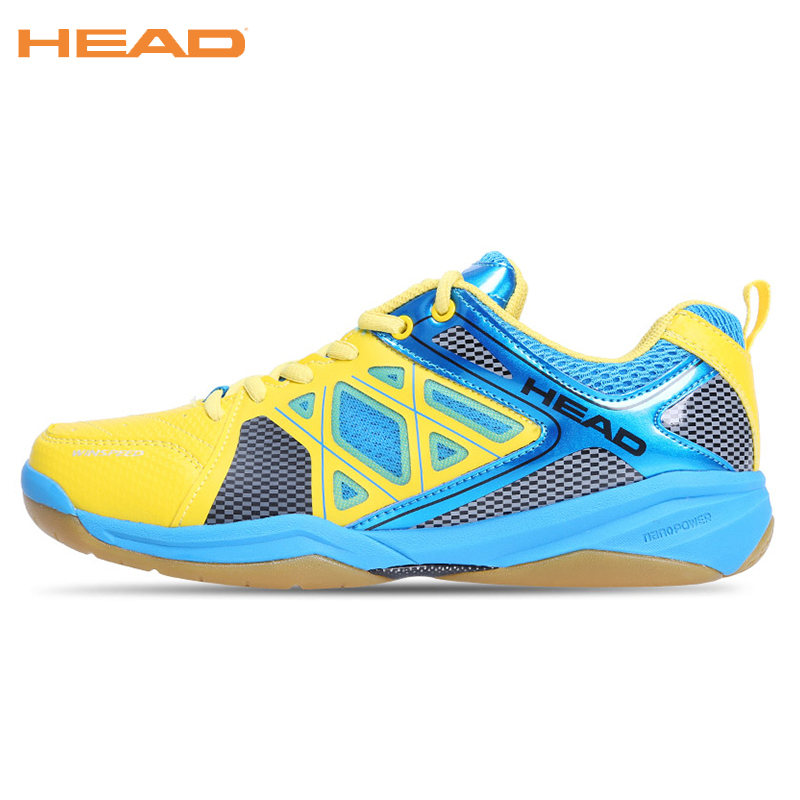 HEAD Sneakers Professional Tennis Shoes Top Quality Badminton Shoes For Men Zapatillas Mujer Sport Shoes Mens Footwear Badminton top quality men s badminton shoes breathable sport shoes brand sneakers table tennis shoes badminton shoes for men size 35 44