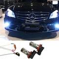 2x H11 H8  LED Fog Light DRL Eree free For Mercedes W211 W212 W164 W221