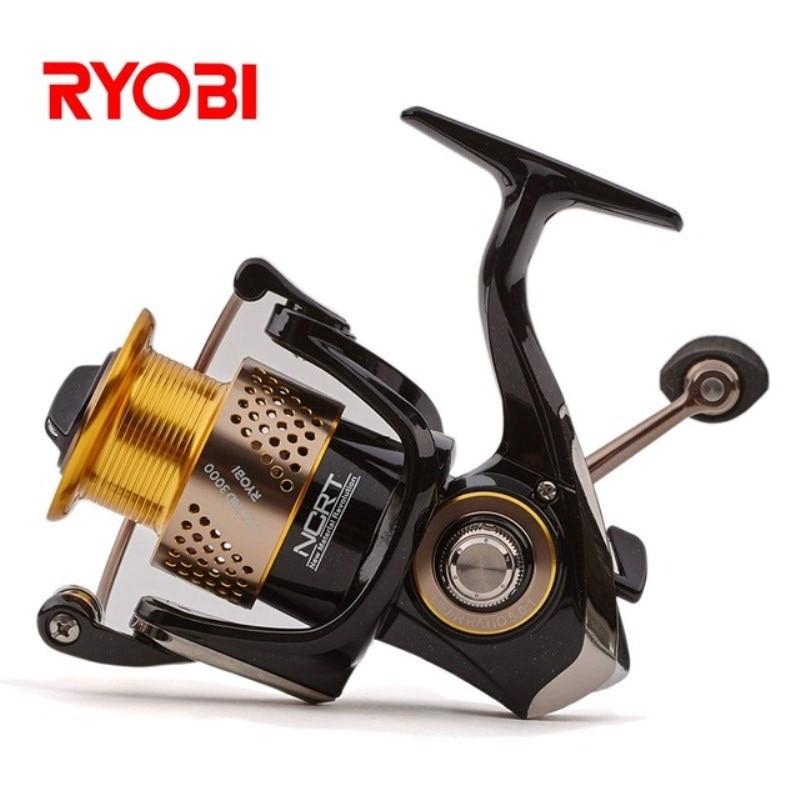 RYOBI LEGEND (SLAM) 5.0:1/5.1:1 6BB 1000-6000 Size Spinning Fishing Reel 2.5kg-7.5kg Carretilha Moulinet Carretilhas De Pescaria