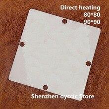 مباشرة التدفئة 80*80 90*90 MT5830EPHJ بغا استنسل قالب