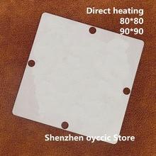 Direct heating  80*80 90*90  MT5830EPHJ  BGA  Stencil Template