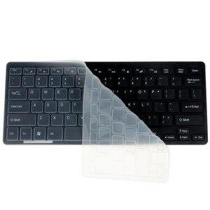 Image 3 - Kemile 2.4g mini teclado sem fio e mouse óptico combinação preto/whit para samsung smart tv desktop pc