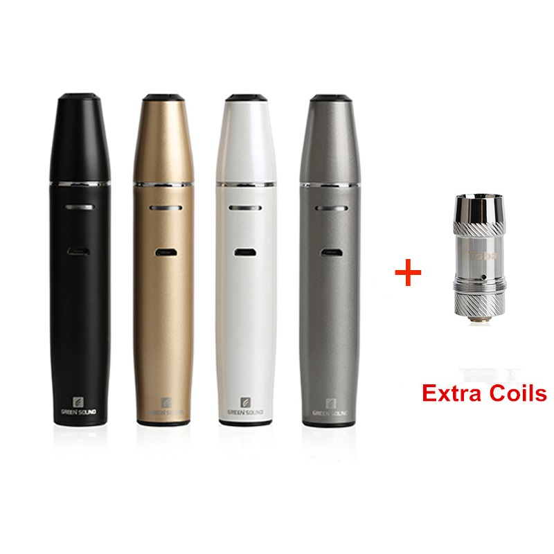 GreenSound TOBA ICOS with replace coil vape pen 1500mah Electronic cigarette vaporizer kit vaper cigarettes for vapor hookah in Electronic Cigarette Kits from Consumer Electronics