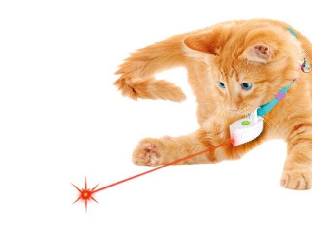 free shipping pet dog cat cat laser pointer cat toy laser toy collar