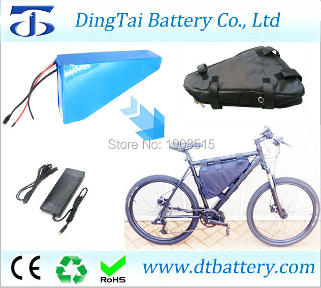 Ebike lithium battery triangle battery 48V 20Ah lithium ion ICR18650 29E bicycle battery for electric fat bike with charger+bag 48v 1000w electric bike ebike bicycle lithium 20ah battery alloy charger
