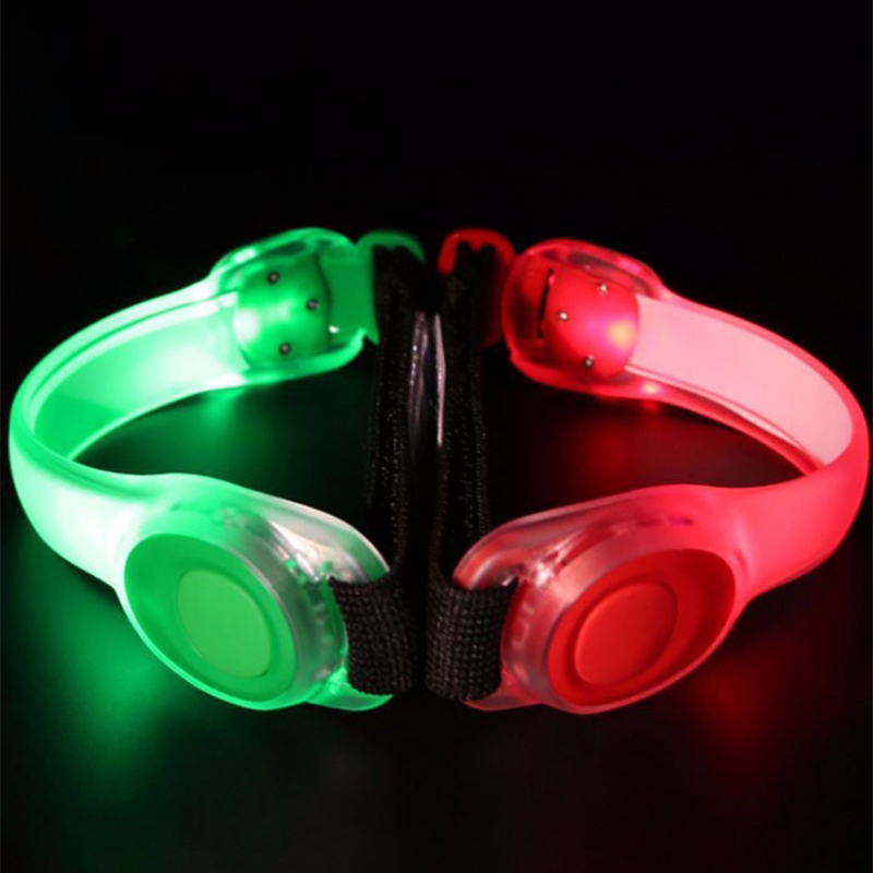 4 Pcs LED Horse Leg Strap Luminous Belt Night Visible Horse Legging Accessories Horse Riding Safety Warning Light Equipment