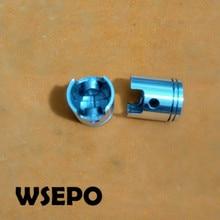Качество chongqing! Поршень(только голый Поршень) 43 мм Размер отверстия Подходит для 1E43F 2 тактный с воздушным охлаждением бензиновый двигатель