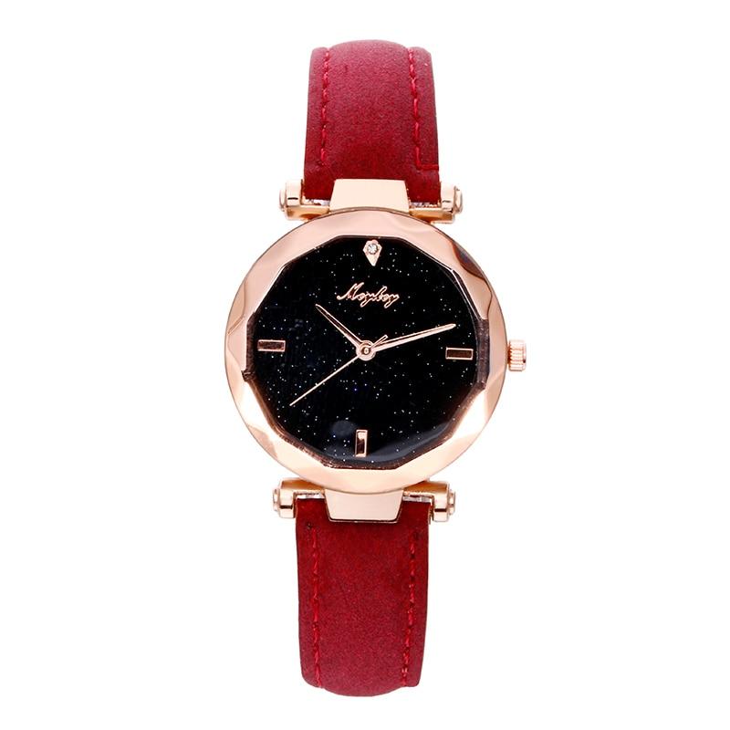 MCYKCY Marca Mujeres Reloj 2018 Moda Casual Rhinestone Reloj de - Relojes para mujeres