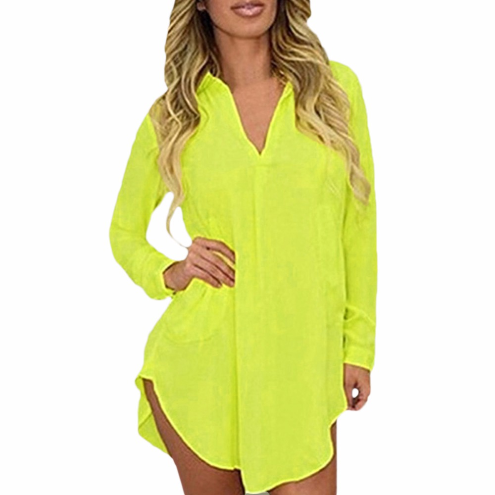 5XL Sheer Chiffon Blouse 2017 Plus Size Women Clothing Long Sleeve Autumn Brand Shirt Casual Loose Oversized Top Chemise Femme