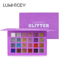 LUWHICEY Glitter Eyeshadow Palette Profissional Shimmer Eye Shadow Makeup Palette Women Beauty Make Up Cosmetic Maquiagem Gift eye shadow palette make up marla new women girl mek up cosmetic eyeshadow palette makeup