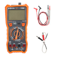 NCV Digital Multimeter Infrared Remote Detection Voltmeter Ammeter Esr Meter Capacitance Temperature Tester HFE True RMS