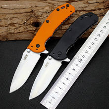 60HRC D2 Blade Folding Knife Zero tolerance Survival Knifes G10 Handle Pocket Hunting CNC Tactical Knives Camping Outdoor Tools