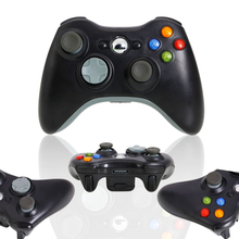 2 pcs Black white New wireless controller for Microsoft Xbox 360 Wireless Controller Black white
