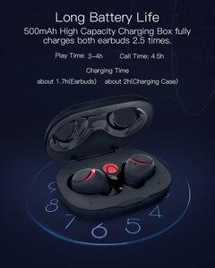 Image 4 - Para BlitzWolf brother AIRAUX AA UM1 auriculares inalámbricos Bluetooth 5,0 manos libres Hi Fi con micrófono estéreo auriculares impermeables en Stock