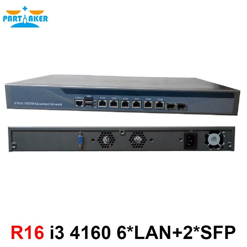 Radius_Manager Panabit monowall PFS OPENWRT PFSense firewall with I3 4160 processor 2GB RAM 8G SSD