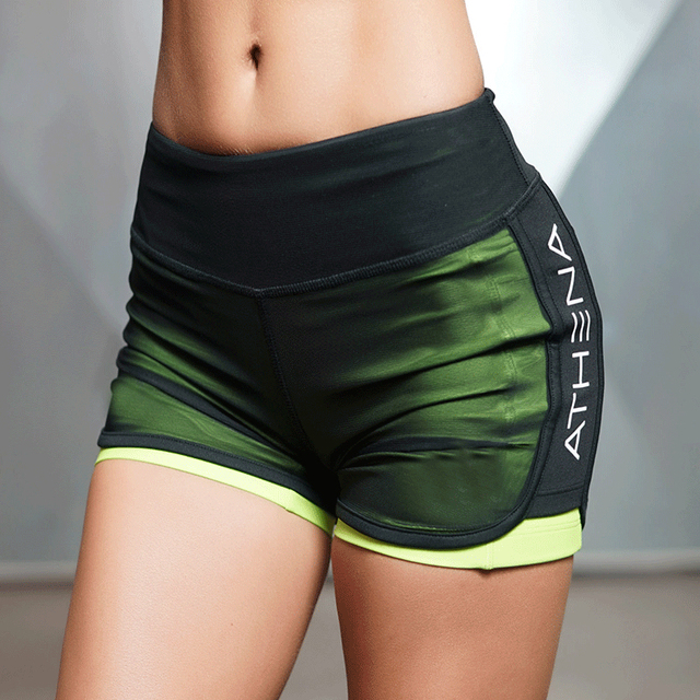 Two Breathable Shorts Women