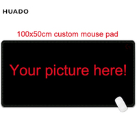 Custom Large Mouse Pad 1000x500mm Speed World Map Keyboard Mat Desk Mat For Game Player