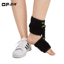 OPER Adjustable Ankle foot Support Brace Plantar Fasciitis Foot Drop Foot Cramp Prevent Foot Stabilizer Pain Relief Guard Strap