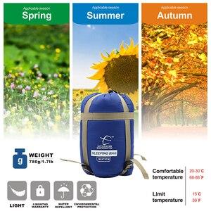 Image 4 - Hitorhike 75 x 190CM  Mini Outdoor Ultralight Envelope Sleeping Bag Ultra small Size For Camping Hiking Climbing suit 3 seasons
