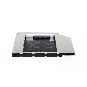 Чехол для жесткого диска sunдолина 9,5 мм, тонкий, универсальный, для SATA, 2-го SSD, Caddy, SSD, алюминиевый, DVD/CD-ROM, Оптический отсек для ноутбука