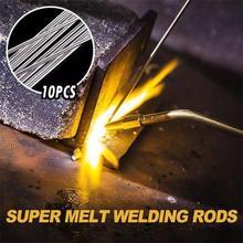 2.0mm 33cm Low Temperature Aluminium Welding Rod Electrodes Silver Super Easy Melt Welding Rods Steel Welding Soldering Supplies