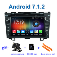 1024 600 Quad Core Android 5 1 1 Car DVD Player GPS For Honda CRV CR