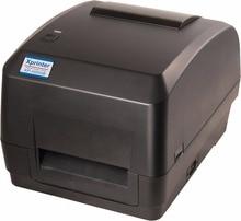 Freeshiping300DPI XP-H500E impresora de etiquetas de código de barras térmica Directa y transferencia 108mm Apoyo 1D y 2D impresión de etiqueta de la ropa etiqueta de la joyería