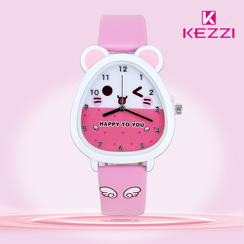 Baosaili Top Brand Fashion Kids Boy Girl Watch Quartz Analog Leather Wristwatches Gifts Cartoon Casual Waterproof relogio K-734 free shipping kezzi women s ladies watch k840 quartz analog ceramic dress wristwatches gifts bracelet casual waterproof relogio