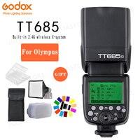 Godox TT685O TT685 Flash 2.4G Wireless HSS 1/8000 s TTL GN60 Wireless Speedlite for Olympus Panasonic E M10II E M5II GX85 GH4
