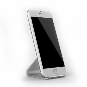 Image 3 - Mobile support Mobile Phone Holders Metal Stands Aluminium Alloy For Apple iPhone X 8 8Plus Support bracket desktop Case