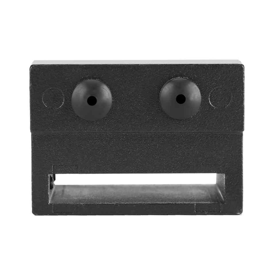 2 יחידות סגסוגת אבץ דלת בלם מסלול רכבת להפסיק חלק חלופי עבור הזזה חומרת אסם דלת