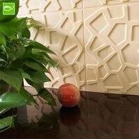 60x60 cm 3d Foam Wandpanelen Rooster Moderne Lederen Behang XPE DIY Waterdicht Verwijderbare 3D Muurstickers voor Woonkamer Bed kamer
