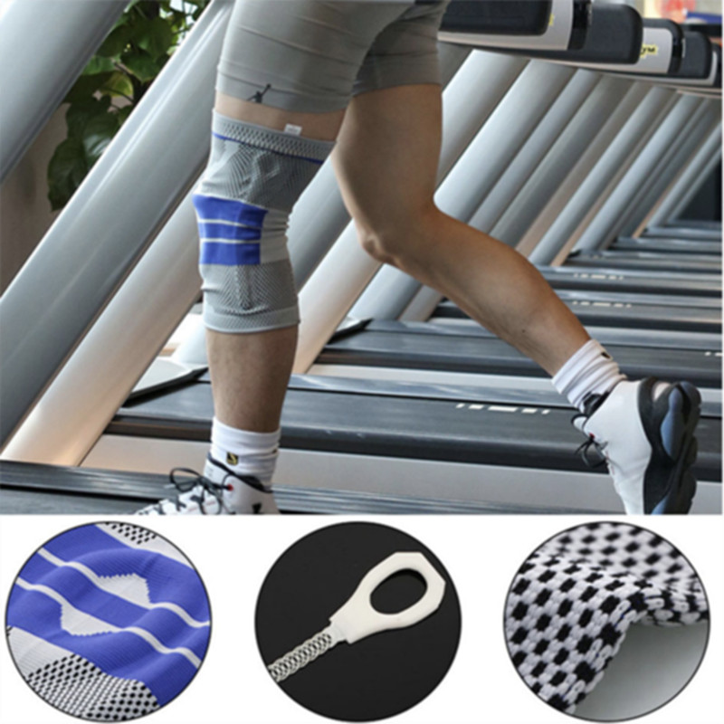 Knee Sleeve Support Knee Pad Brace Knee Support Professional Protective Sports Knee Pad Safety Kneepads For Basketball