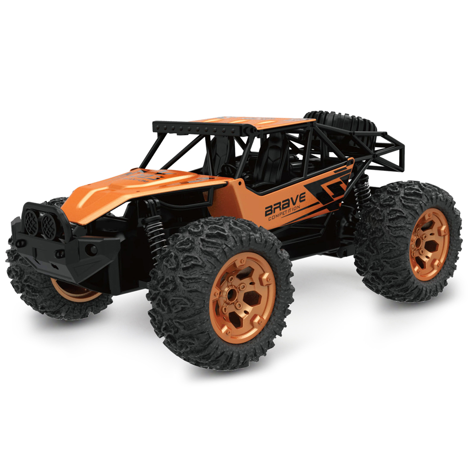 New Alloy Four-Wheel Drive Rc Car Climbing Buggy Radio Remote Control High Speed Racing Car Model Toys For Kids china remote control dune buggy huanqi rc cars electric car baby amphibious four wheel drive hummers car with brake lights music