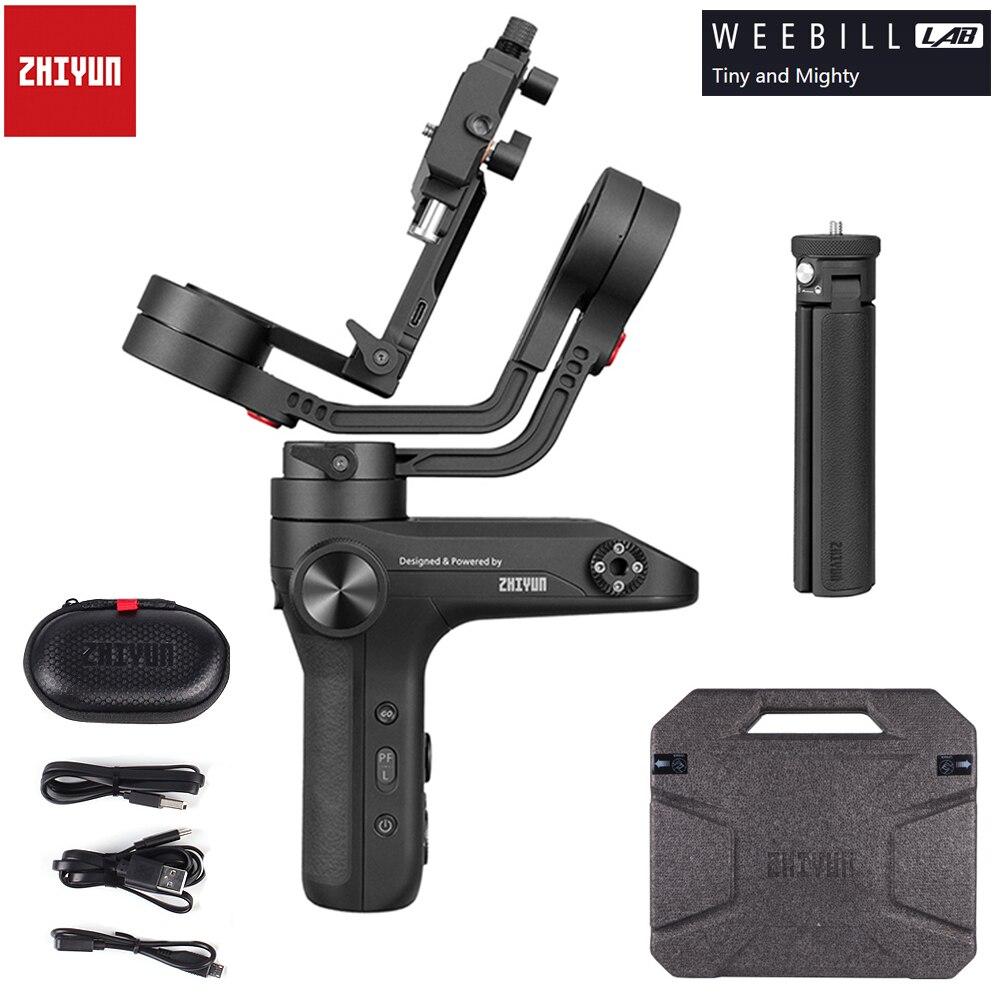 ZHIYUN Weebill LAB 3 axes sans fil Image Transm caméra de poche stabilisateur de cardan pour caméras sans miroir OLED affichage PK grue 2