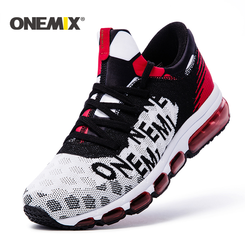 ONEMIX Mens running Shoes Autumn or winte Outdoor Sport shoes Sneakers Male Athletic Shoes zapatos de hombre Men jogging shoes цена