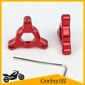 Motorcycle 14mm parts Fork Preload Adjusters For Yamaha FZ1 N / Fazer 2006 - 2010 2007 2008 2009 YZF-R1 1998 - 2010 Red