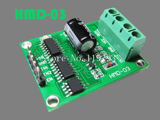 [[BELLA]High-power H -bridge DC motor driver module 55A overcurrent protection program provides smart car c51--5PCS/LOT