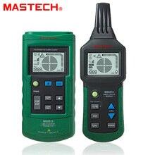 MASTECH MS6818 erweiterte draht tester tracker multi-funktion Kabel detektor 12 ~ 400 V Rohr Locator Meter druck sender