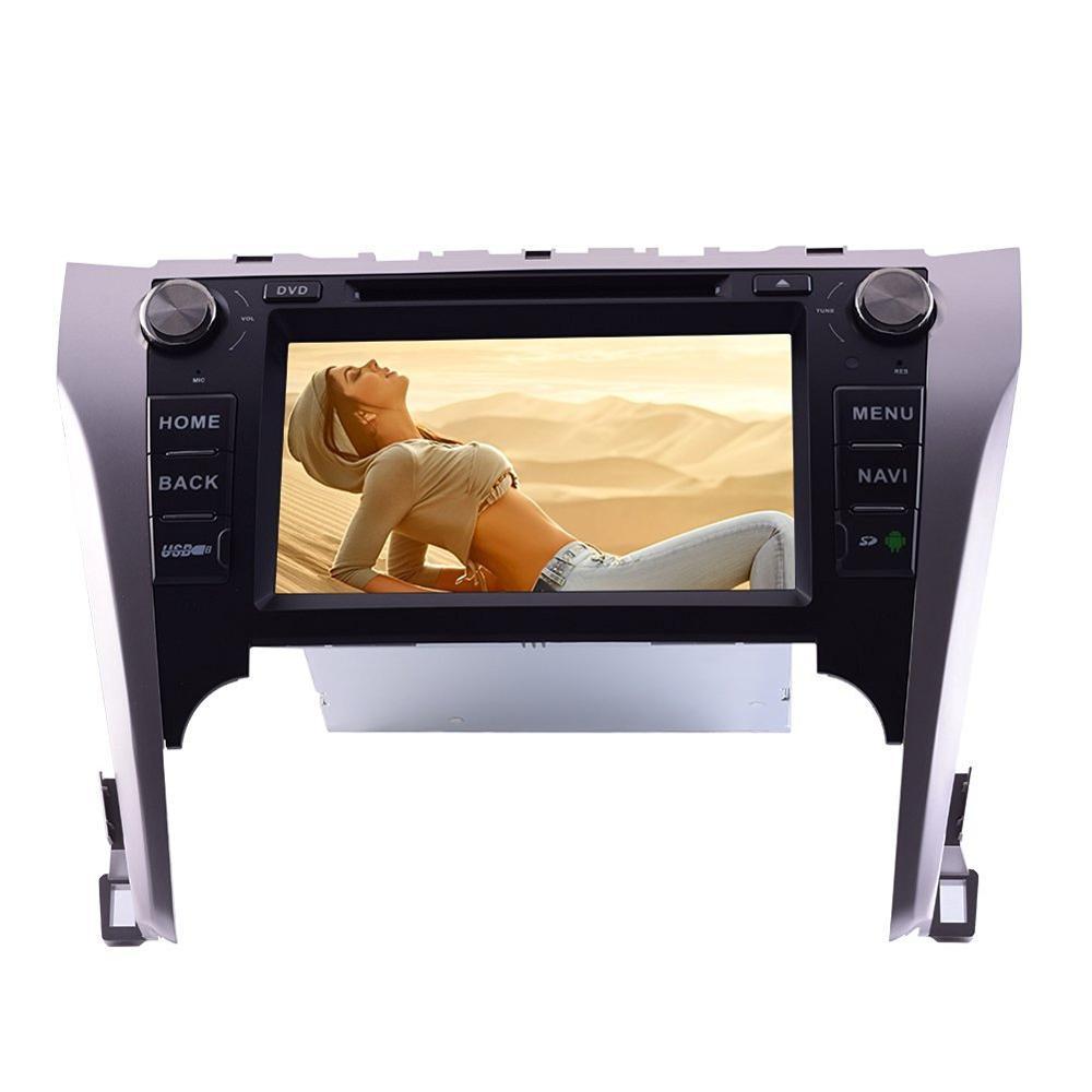 Lecteur CD DVD GPS de voiture pour Toyota Camry 2012 2013 2014 dans le tableau de bord véhicule stéréo Autoradio Bluetooth vidéo Audio Headunit wifi