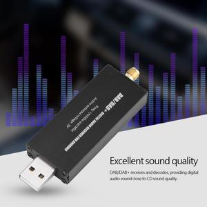 Image 2 - מיני רכב דיגיטלי רדיו מקלט USB DAB DAB + רדיו דיגיטלי אנדרואיד ניווט לרכב דיגיטלי רדיו מקלט