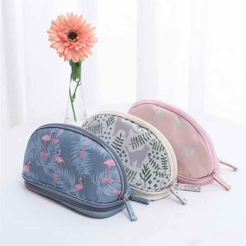 Purses Gadget-Bag Makeup-Organizer-Bag Make-Up Small Mini Daily Double-Layer
