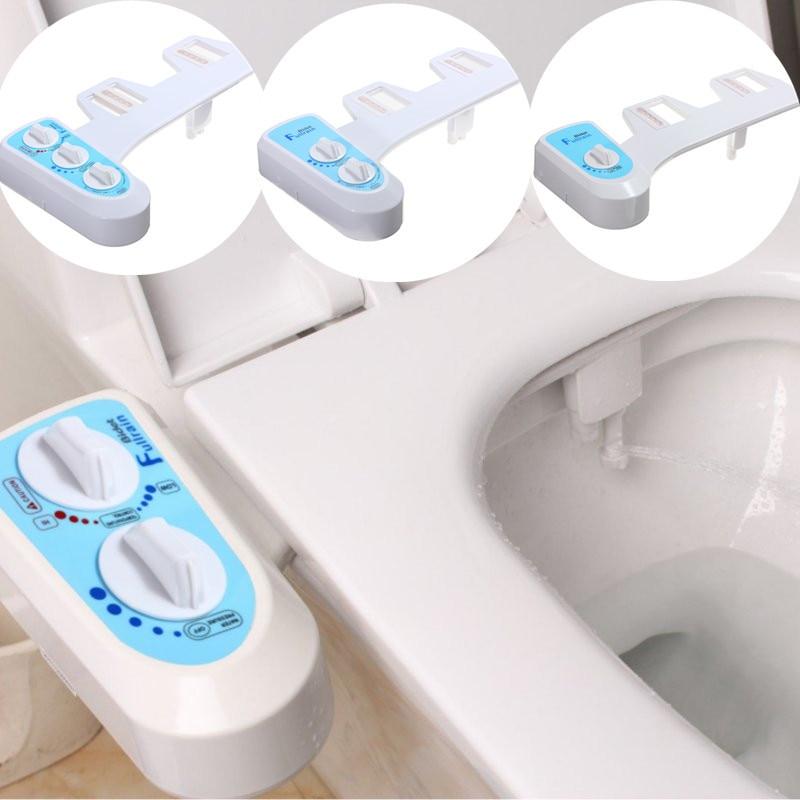 L'eau Froide chaude Non-Électrique Salle De Bain Siège De Toilette Bidet Pulvérisation Buse Siège De Toilette Gynécologique À Laver Pistolet