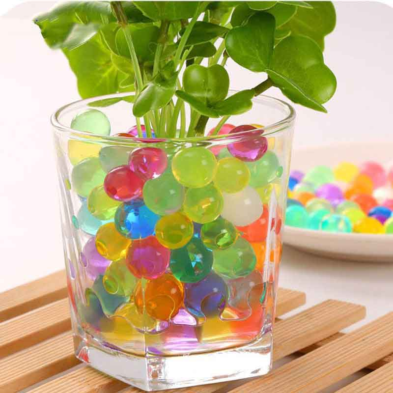 Hydrogel Crystal Beads Water Crystal Soil Jelly Beads Magic Ball Orbiz Gun Water Beads Water Paintball Pearl Shaped Mud Polymer