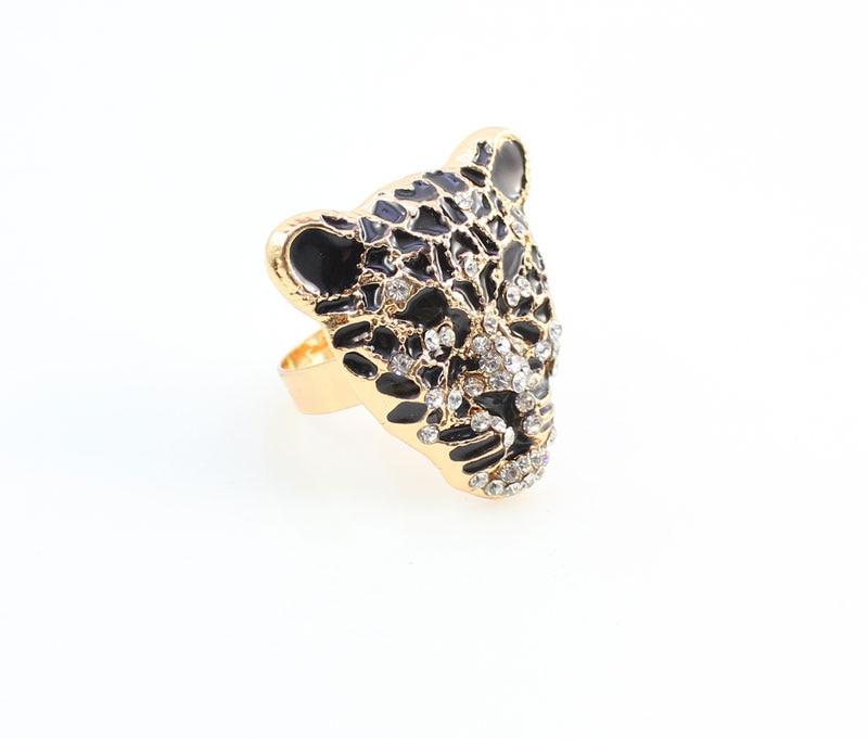 Sərin Leopard Baş Bilərzik Sırqalar Üzük Boyunbağı Qızlar - Moda zərgərlik - Fotoqrafiya 5
