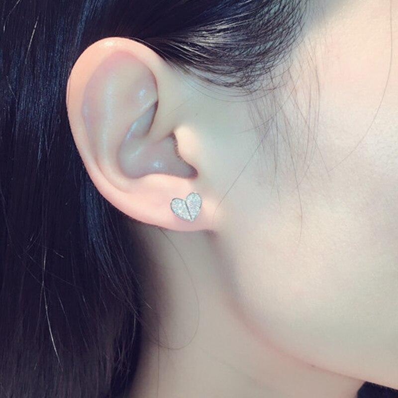 heart earrings sterling silver (5)